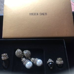 Heidi Daus earrings new in box